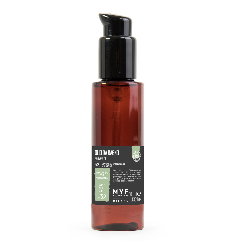 Olio da bagno 100 ml lavanda rosmarino salvia ricco - Olio bagno bionike ...